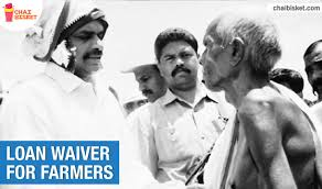 YS Rajashekarreddy started Loan aiver for Farmers scheme for savings debt ridden farmers from suicides